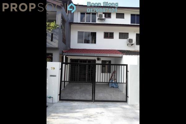 For Rent Terrace at Taman Sri Sinar, Segambut Freehold Unfurnished 3R/2B 1.2k