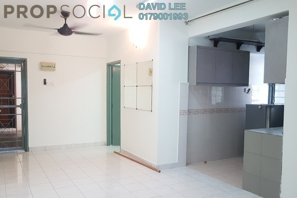 For Rent Apartment at Pelangi Damansara, Bandar Utama Freehold Semi Furnished 3R/2B 1.2k