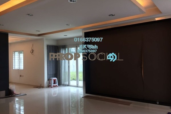 For Sale Superlink at Aster Grove 2, Denai Alam Freehold Fully Furnished 4R/3B 850k