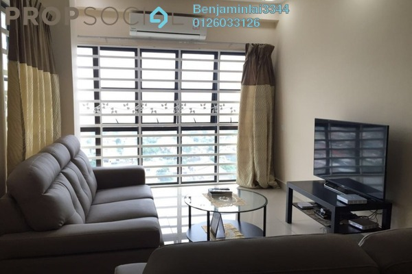 For Rent Condominium at Park 51 Residency, Petaling Jaya Freehold Fully Furnished 4R/2B 2.2k