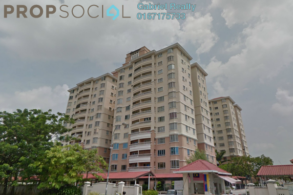 For Rent Condominium at Pertiwi Indah, Cheras Freehold Semi Furnished 3R/2B 1.6k