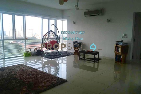 For Rent Condominium at Surian Residences, Mutiara Damansara Freehold Semi Furnished 4R/5B 3.9k