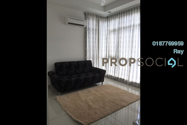 For Rent Condominium at Central Residence, Sungai Besi Freehold Fully Furnished 2R/1B 1.65k