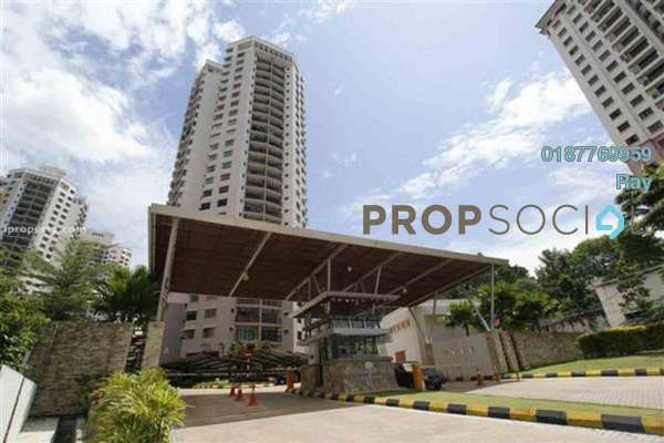 For Rent Condominium at Changkat View, Dutamas Freehold Fully Furnished 3R/2B 1.8k