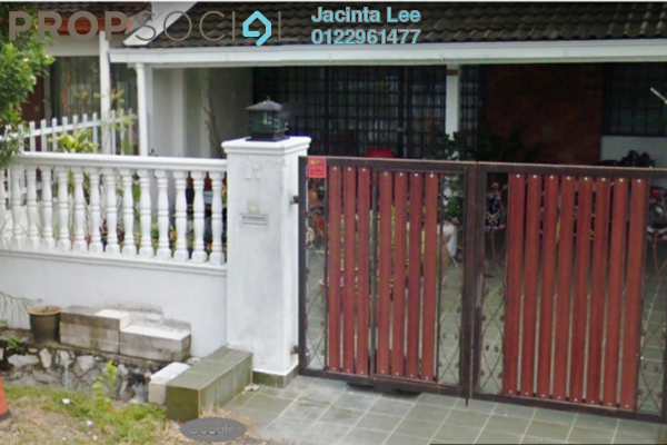 For Sale Terrace at Taman Bukit Maluri, Kepong Leasehold Semi Furnished 3R/2B 510k