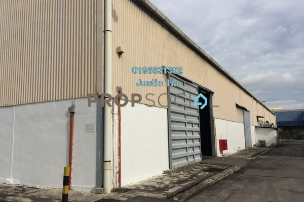 For Rent Factory at Section 15, Shah Alam Freehold Semi Furnished 0R/0B 27k