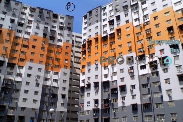 For Rent Apartment at Sri Penara, Bandar Sri Permaisuri Freehold Semi Furnished 2R/2B 1k