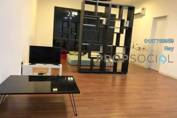 For Rent Condominium at You Residences @ You City, Batu 9 Cheras Freehold Semi Furnished 0R/1B 1.1k