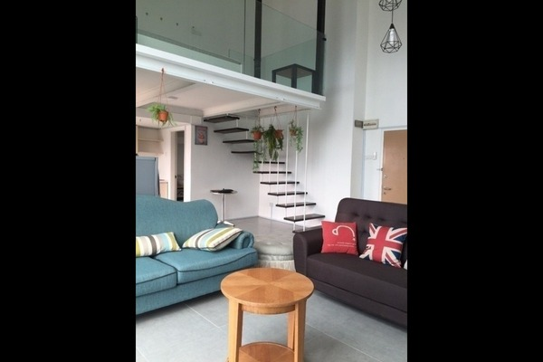 For Rent Duplex at Empire City, Damansara Perdana Freehold Fully Furnished 1R/2B 1.6k