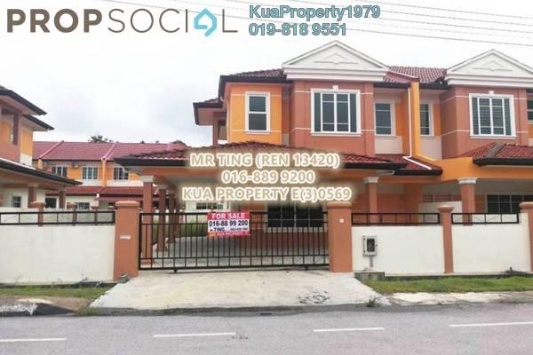 For Sale Terrace at Uni Garden, Kota Samarahan Leasehold Unfurnished 4R/3B 600k