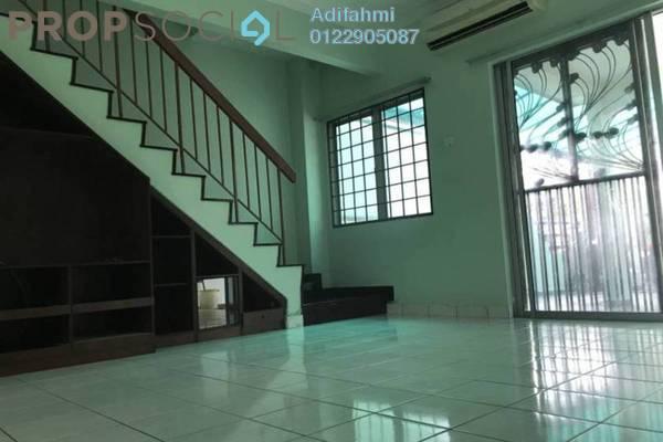 For Sale Terrace at PU12, Bandar Puchong Utama Freehold Semi Furnished 4R/3B 495k