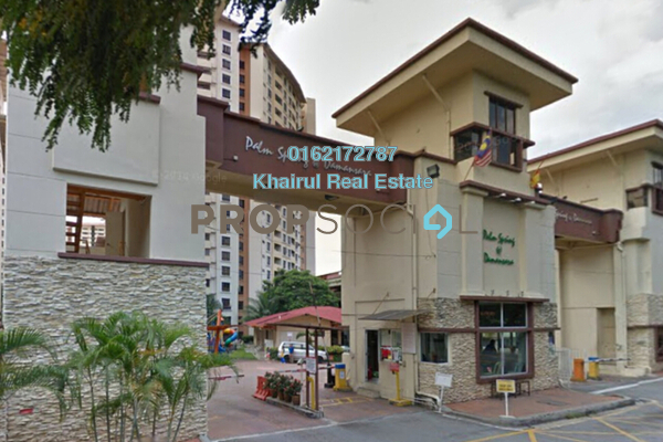 For Sale Condominium at Palm Spring, Kota Damansara Freehold Semi Furnished 3R/2B 420k