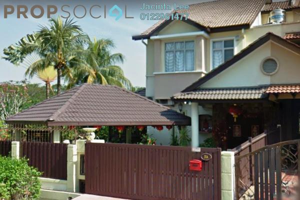 For Sale Terrace at Kota Kemuning Hills, Kota Kemuning Freehold Semi Furnished 4R/3B 946k