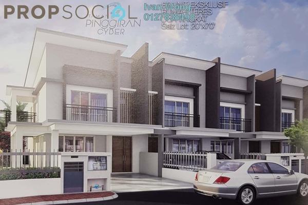 For Sale Terrace at Taman Pinggiran Cyber, Cyberjaya Leasehold Unfurnished 4R/3B 639k