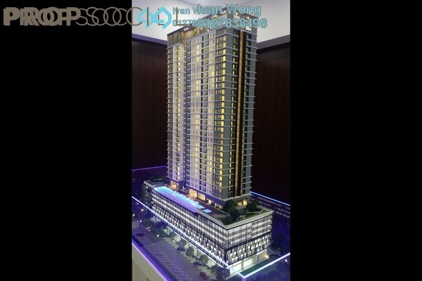 For Sale Serviced Residence at The Sky Residence, Cheras Leasehold Unfurnished 3R/2B 492k