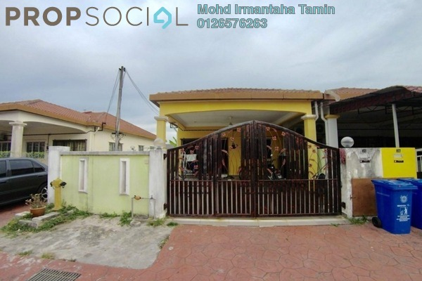 For Sale Terrace at Section 30, Shah Alam Freehold Semi Furnished 4R/2B 420k
