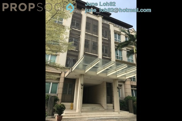 For Rent Condominium at Sutera Bukit Tunku, Kenny Hills Freehold Semi Furnished 5R/5B 7k