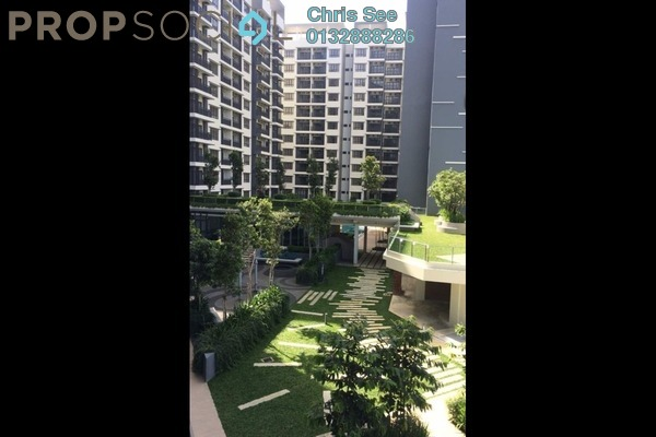 For Sale Condominium at Suria Residence, Bukit Jelutong Freehold Semi Furnished 2R/2B 649k