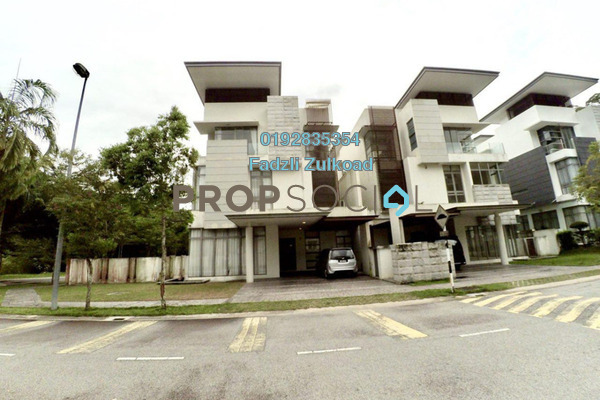 For Sale Superlink at The Valley TTDI, Ampang Leasehold Semi Furnished 6R/6B 2.95m