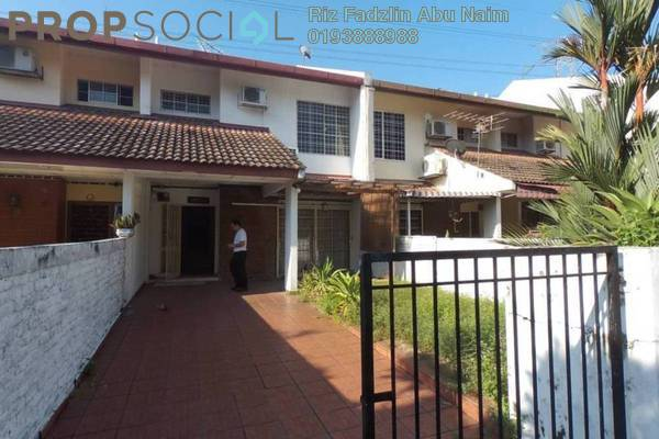 For Sale Terrace at Wangsa Baiduri, Subang Jaya Freehold Semi Furnished 4R/3B 850k