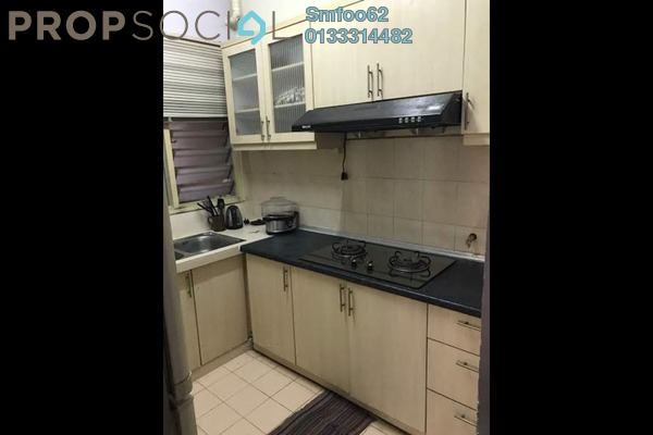 For Rent Condominium at Melur Apartment, Sentul Freehold Fully Furnished 3R/2B 2k