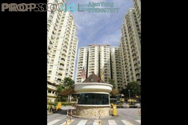 For Rent Condominium at Platinum Hill PV5, Setapak Freehold Semi Furnished 4R/2B 1.59k