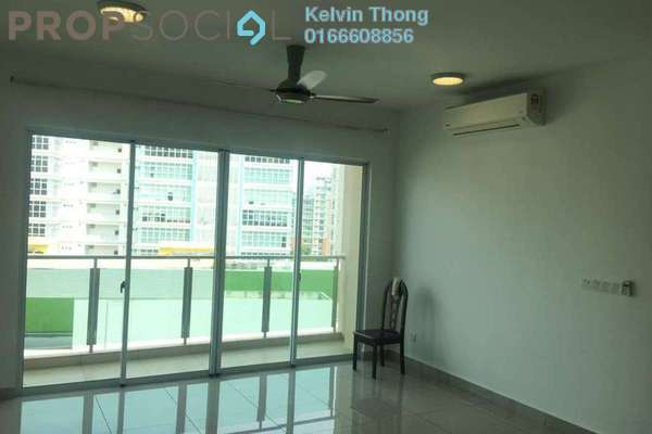 For Rent Condominium at Medalla @ Oasis Corporate Park, Ara Damansara Freehold Semi Furnished 2R/2B 1.8k