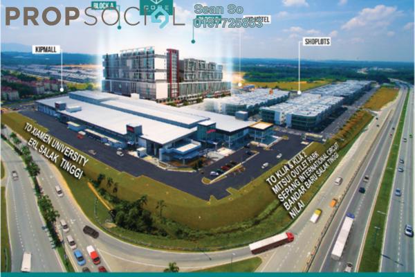 For Sale SoHo/Studio at Core SoHo Suites, Sepang Freehold Semi Furnished 1R/1B 242k