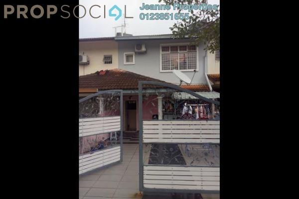 For Sale Terrace at Section 5, Bandar Mahkota Cheras Freehold Semi Furnished 4R/3B 700k
