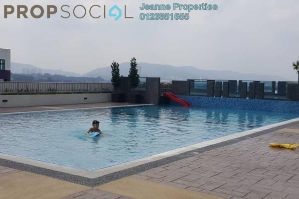 For Rent Condominium at Landmark II, Bandar Sungai Long Freehold Semi Furnished 3R/2B 1.4k