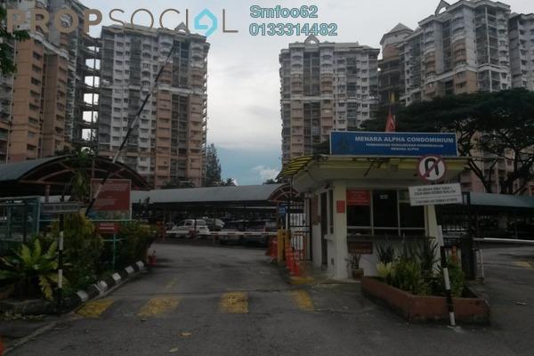 For Rent Condominium at Menara Alpha, Wangsa Maju Freehold Semi Furnished 3R/2B 1.45k