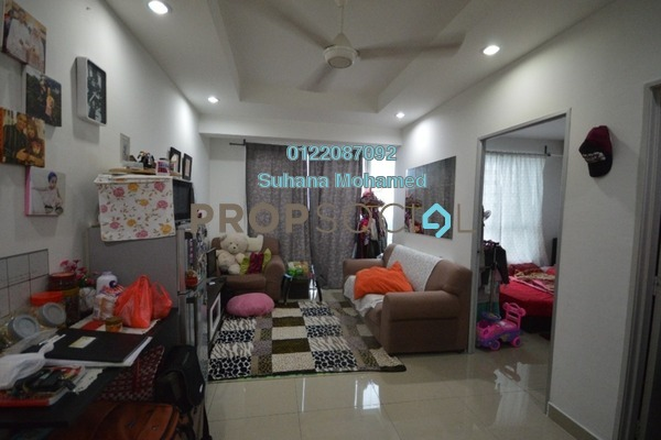 For Sale Apartment at Menara U2, Shah Alam Freehold Fully Furnished 2R/1B 280k