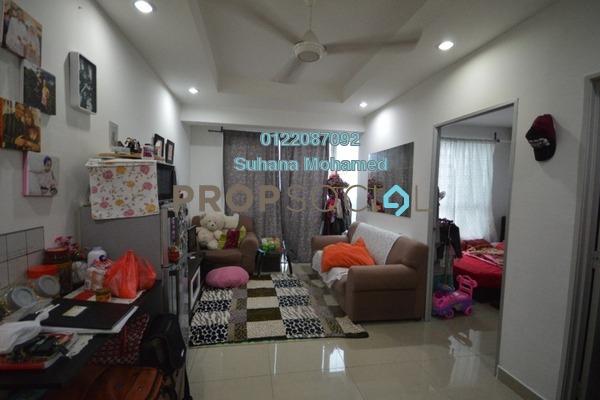 For Sale Apartment at Menara U2, Shah Alam Freehold Fully Furnished 2R/1B 280k