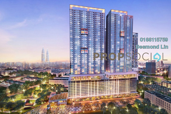 For Sale Condominium at 28 Boulevard, Pandan Perdana Freehold Semi Furnished 1R/1B 299k
