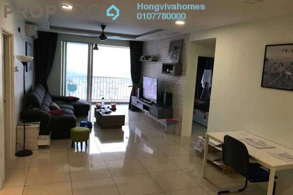 For Sale Condominium at Platinum Lake PV20, Setapak Freehold Fully Furnished 3R/2B 580k