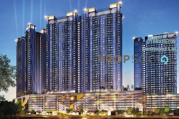 For Sale Condominium at PV18 Residence, Setapak Freehold Unfurnished 3R/2B 429k