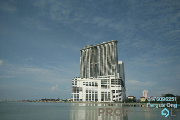 For Sale Condominium at Silverscape @ Hatten City, Bandar Melaka Freehold Semi Furnished 1R/1B 384k