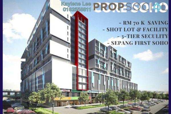 For Sale SoHo/Studio at Core SoHo Suites, Sepang Freehold Semi Furnished 1R/1B 239k