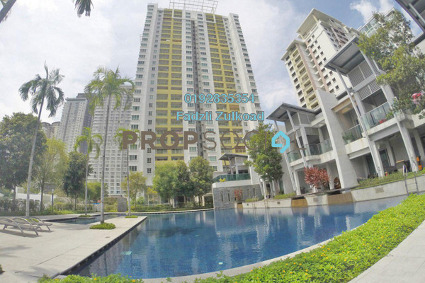 For Sale Condominium at Kiara Designer Suites, Mont Kiara Freehold Semi Furnished 3R/2B 730.0千