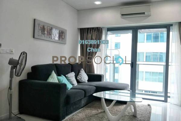 For Rent Condominium at Summer Suites, KLCC Freehold Fully Furnished 1R/1B 2.6k