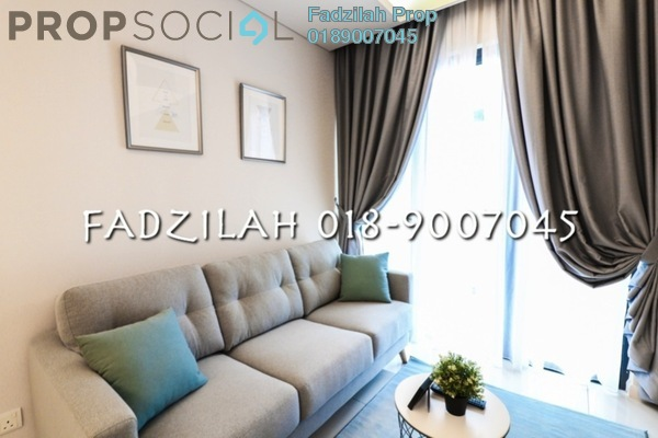 For Rent SoHo/Studio at Tribeca, Bukit Bintang Freehold Fully Furnished 0R/1B 3.2k