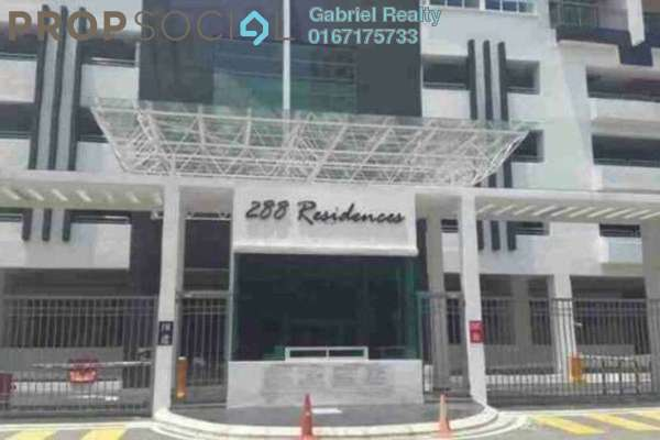 For Rent Condominium at 288 Residency, Setapak Freehold Semi Furnished 2R/2B 1.9k