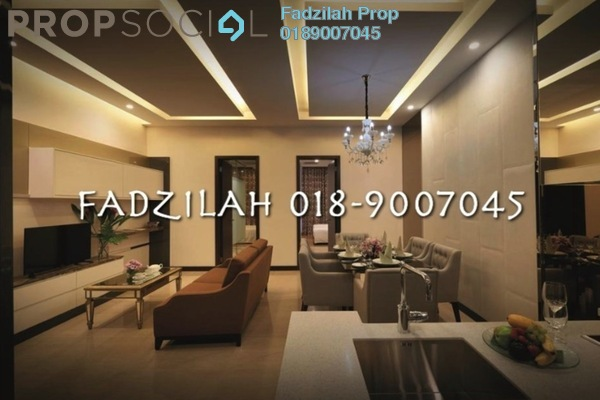 For Rent Condominium at Dorsett Residences, Bukit Bintang Freehold Fully Furnished 2R/2B 5.4k