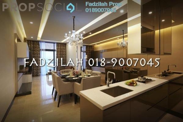 For Rent Condominium at Dorsett Residences, Bukit Bintang Freehold Fully Furnished 2R/2B 5.3k