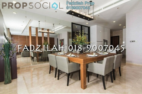 For Rent Condominium at The Pearl, KLCC Freehold Semi Furnished 3R/5B 9k