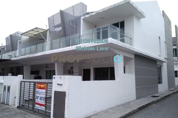 For Rent Link at Taman Rakan, Bandar Sungai Long Freehold Semi Furnished 4R/3B 1.3k