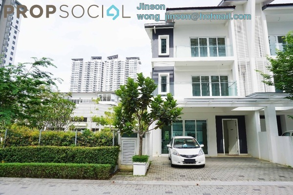 For Sale Superlink at Scenaria, Segambut Freehold Fully Furnished 5R/7B 3.4m