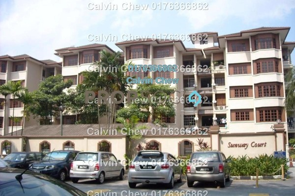 For Sale Condominium at Sunway Court, Bandar Sunway Freehold Unfurnished 3R/2B 387k