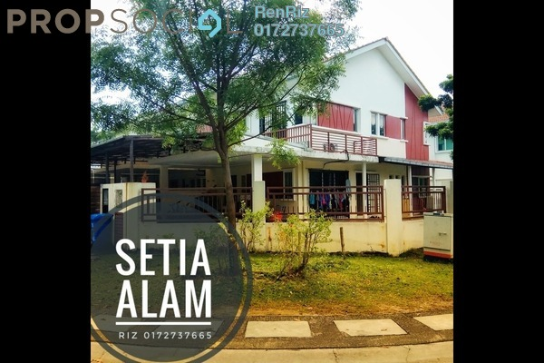 For Sale Terrace at Setia Indah, Setia Alam Freehold Semi Furnished 4R/3B 1m