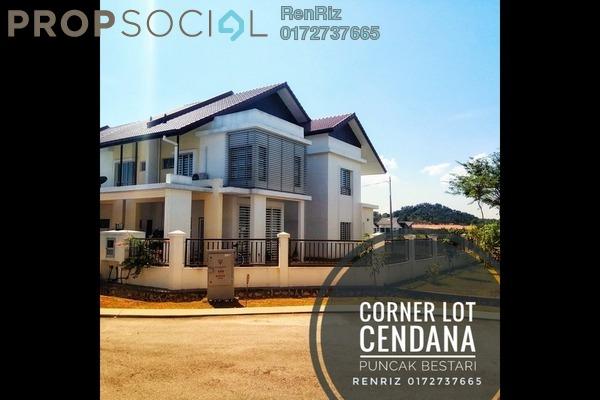 For Sale Terrace at Puncak Bestari, Puncak Alam Freehold Semi Furnished 4R/4B 900k